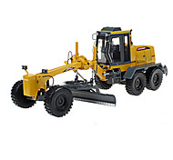 Toy Cars Toys Construction Vehicle Motor Grader Retractable Furnishing Articles Excavating Machinery ABS Metal Alloy Plastic Metal Boys'