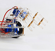 cheap -Crab Kingdom 4 DOF Three-dimensional Rotating Mechanical Arm 99 Robot DIY Teaching Kit structure