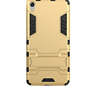 cheap -Case For Sony Sony Xperia XA Sony Xperia X with Stand Back Cover Armor Hard PC for Sony Xperia XA Sony Xperia X Sony Xperia E5 Sony