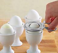 Недорогие -Нержавеющая сталь Творческая кухня Гаджет Для Egg ножничный