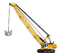 Недорогие -Игрушечные машинки Игрушки Строительная техника Игрушки Выдвижной Башня Экскаватор ABS пластик Металл Классический и неустаревающий