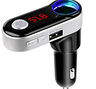 Bluetooth FM Transmitter Handsfree Bluetooth Car Kit USB Charger Port