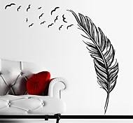 Недорогие -Натюрморт Наклейки Простые наклейки Декоративные наклейки на стены, Винил Украшение дома Наклейка на стену Стена Стекло / ванной комнаты