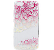 For Wikon Lenny3 phone Case Pink World Lace Embossed Pattern TPU Material High Penetration