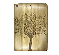 abordables -Funda Para Apple iPad Air En Relieve Funda Trasera Árbol Dura De madera para iPad Air Apple