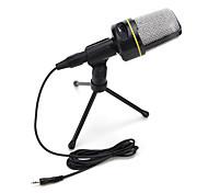 2017 год новый полезный горячий проводной высококачественный стереофонический микрофон конденсатора с держателем зажима для караоке в чате