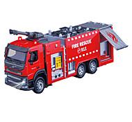 Недорогие -Игрушки Пожарная машина Игрушки Выдвижной Грузовик Металл Классический и неустаревающий Изысканный и современный 1 Куски Мальчики Девочки