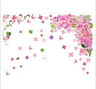 Животные ботанический Цветы Наклейки Простые наклейки Декоративные наклейки на стены,Винил материал Украшение дома Наклейка на стену