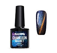 Недорогие -Кусачки для ногтей УФ-гель польский 10ml 1 Магнитный Soak Off блестит Ультрафиолетовый верхний слой геля Классика мерцающий Блеск и блеск