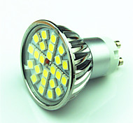 abordables -4W 350 lm GU10 Focos LED MR16 24 leds SMD 5050 Regulable Blanco Cálido Blanco Fresco AC220 AC 85-265V