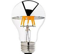 5W B22 E26/E27 Bombillas de Filamento LED G60 6 LED COB Regulable Blanco Cálido 500-550lm 2700-3500K AC 100-240 AC 110-130V