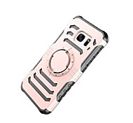 For IPhone 7 Plus 7 6s Plus 6 Shockproof Armband Case Back Cover Case Solid Color Hard PC