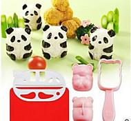 5 предметов DIY прессформы Инструмент для суши For Для Райс Пластик Высокое качество Творческая кухня Гаджет