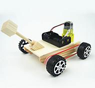 Kit de Bricolage Jouets Découverte & Science Voitures de jouet Jouets Circulaire Tank Chariot A Faire Soi-Même 1 Pièces
