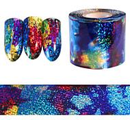 1pcs Стикер искусства ногтя Кружева наклейки макияж Косметические Ногтевой дизайн