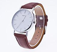 Women's Sport Watch Dress Watch Fashion Watch Wrist watch Quartz Genuine Leather Band Charm Casual Minimalist Multi-Colored