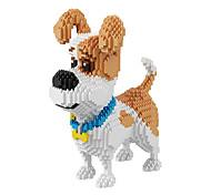 baratos -BALODY Blocos de Construir 2100pcs Cachorros Diamante Personagem de Filme Criativo Clássico Chique & Moderno Desenho Fashion Especial