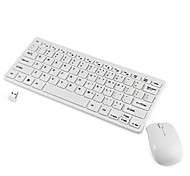 cheap -Fashion 2.4G Ultra-thin Wireless Keyboard and Mouse Combo Computer Accessories  for Laptop PC Windows Tv Box Home Office Game
