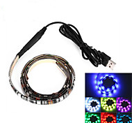 BRELONG USB 90CM 6.5W 500LM DC5V 5050 27 Lamp Waterproof IP65 RGB TV / Laptop background light with RGB color