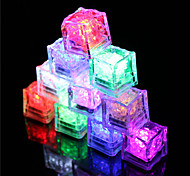 cheap 12pcs color changing ice cubes led light party wedding christmas bar restaurant