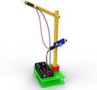 Недорогие -Игрушки Для мальчиков Развивающие игрушки LED освещение Набор для творчества Автопогрузчик Пластик Зеленый