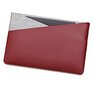 Недорогие -для Apple Macbook 12 дюймов воздуха 11,6 рукава ноутбук сумка кожа PU с простой чувствовал стиль отдыха ноутбук сумка сплошной цвет
