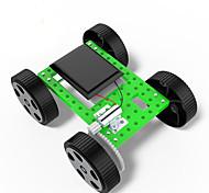 Недорогие -Игрушки Для мальчиков Развивающие игрушки Игрушки на солнечной батарейке Набор для творчества Автомобиль ABS черный увядает Зеленый