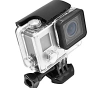 cheap -Smooth Frame Protective Case Waterproof Housing Case Mount / Holder Waterproof, 147-Action Camera,Gopro 4 Gopro 3+ Aluminium Alloy