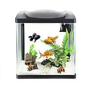 Mini Aquariums Background Noctilucent Energy Saving Plastic