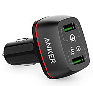 Anker® Quick Charge 3.0 42W Dual USB Car Charger PowerDrive 2 for Galaxy S7 S6 Edge Plus Note 5 4 and PowerIQ