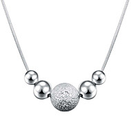 Necklace Statement Necklaces Jewelry Daily Band Fashion Silver Plated 1pc Gift Silver