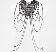 Недорогие -Украшения для тела Цепь Тела / Belly Chain бижутерия Мода Богемия Стиль Кружево Сплав В форме цветка Бижутерия Назначение Для вечеринок