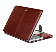 cheap -MacBook Case for Solid Color PU Leather New MacBook Pro 15-inch New MacBook Pro 13-inch Macbook Pro 15-inch Macbook Pro 13-inch
