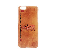 For Frosted Embossed Pattern  Case Back Cover Case Zoomorphism Of Pig Hard PC for Apple iPhone 7