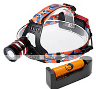 U'King Headlamps Headlight LED 1000 lm 3 Mode Cree XM-L T6 Adjustable Focus Easy Carrying High Power for Camping/Hiking/Caving Everyday