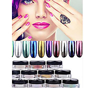 cheap -1pcs Glitter Powder Glitters Nail Art Forms