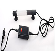 Aquarium LED Lighting Purple Energy Saving Non-toxic & Tasteless LED Lamp AC 100-240V