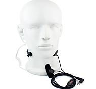 Недорогие -2 pin ptt throat микрофонная гарнитура walkie talkie скрытая акустическая трубка для motorola gp88 gp300 gp2000 hyt tc-500s