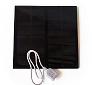 Liangguang Solar Panel Battery Charger For Outdoor 3W Usb D145*145 6V