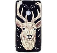 For Huawei P8 Lite(2017) P10 Case Cover Deer Pattern Luminous TPU Material IMD Process Soft Case Phone Case P10 Lite P9 Lite P8 Lite
