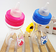 2 Colors Hot Sale pet Cats Dogs plastic Feeding water bottle180ml silicone nipple dog bowl Pet Supplies