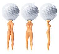 abordables -Tee de Golf Accessoires de golf Etanche Portable Durable Réutilisable Plastique pour Golf - 50 pièces