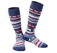 Спортивные носки Носки для пешеходного туризма Сохраняет тепло Быстровысыхающий Мягкий Не натирает Удобный для Снежные виды спорта-3 ед.