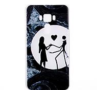 For Asus Zenfone 3 ZE520KL ZE552KL Dancing Pattern Relief Luminous TPU Material Phone Case