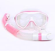 Наборы для снорклинга Трубки Очки для подводного плавания Подводное плавание и снорклинг Резина силиконовый-WHALE