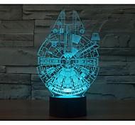 preiswerte -in eintausend Falke 3 d Licht yakeli ist Stereo Licht bunten Gradienten Atmosphäre Lampe LED