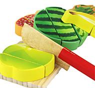 Pretend Play Building Blocks Educational Toy Toys Truck Vegetables Friut Simulation Kid's Children's 200 Pieces