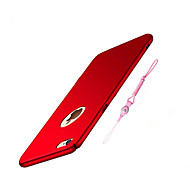 cheap -Case For Apple iPhone 8 iPhone 8 Plus Ultra-thin Back Cover Solid Color Hard PC for iPhone 8 Plus iPhone 8 iPhone 7 Plus iPhone 7 iPhone