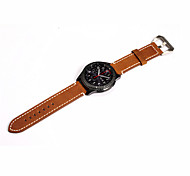 cheap -Watch Band for Gear S3 Frontier Gear S3 Classic Samsung Galaxy Classic Buckle Modern Buckle Stainless Steel Leather Wrist Strap