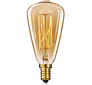 cheap -1pc 25W 40W E14 ST48 Warm White 2300k Incandescent Vintage Edison Light Bulb 220-240V